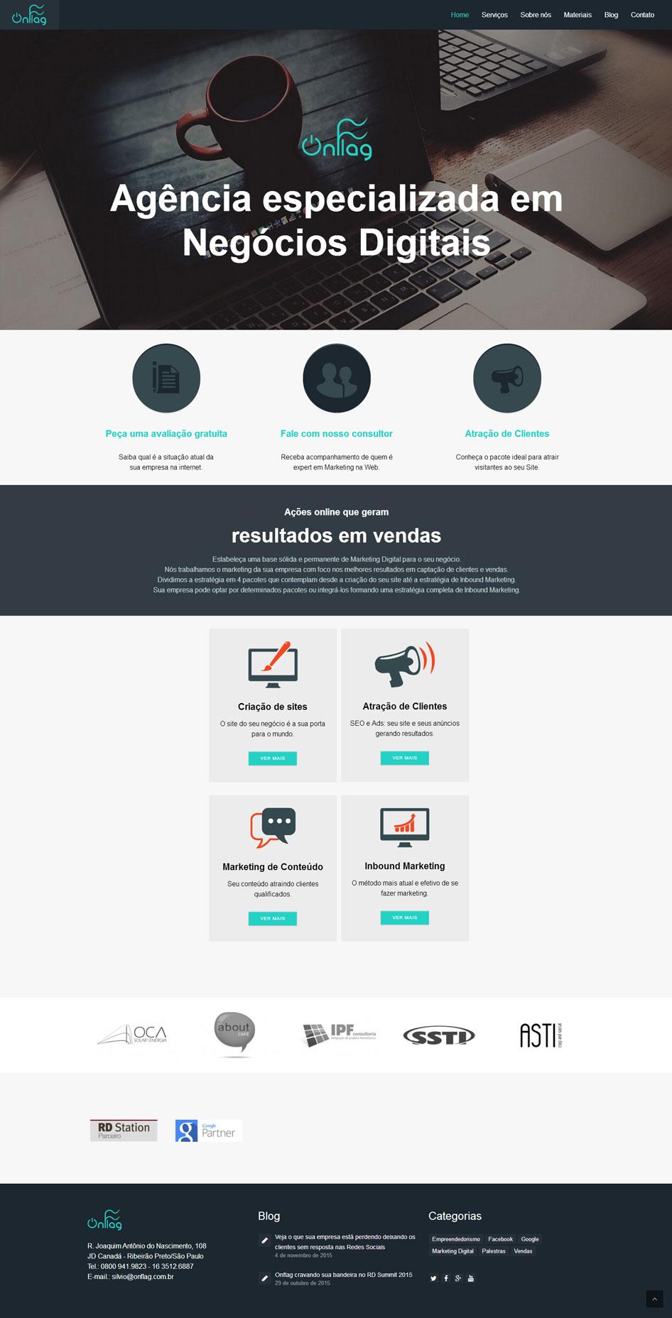 Novo Site Onflag