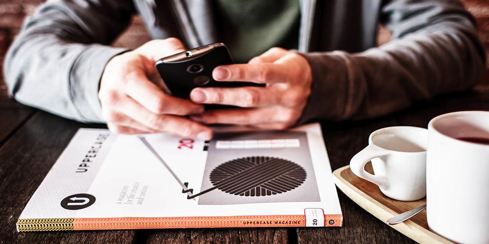 divulgar sua empresa em dispositivos móveis